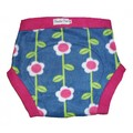 Pumpkin Pants Fleece Soaker - Spring Garden