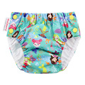 Blueberry Freestyle Swim Nappy: Mermaids Aqua