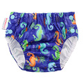 Blueberry Freestyle Swim Nappy: Seahorse