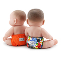 NEW! Rumparooz Dolls Nappies 2pk - Dragons Fly & Poppy