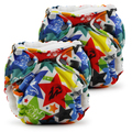 NEW! Lil Joey Newborn AIO Nappy: Dragons Fly