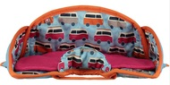 Close Parent Car Seat Protector: Campervan Blue