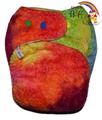 NEW! Snuggleblanks Superwetter Fitted: Rainbow