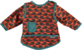 NEW! Close Parent Stage 3 Coverall Bib: Hedgehog