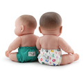 NEW! Rumparooz Dolls Nappies 2pk: Roozy & Peacock