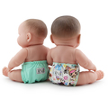 NEW! Rumparooz Dolls Nappies 2pk: Toki Bambino & Sweet