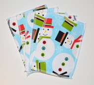 5-Pack Medium Washable Wipes: Frosty