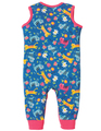 30% OFF! Frugi Kneepatch Dungarees: Skippy Kitty