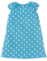 40% OFF! Frugi Little Lola Dress: Sky Polka Zebra
