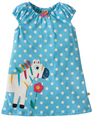 55% OFF! Frugi Little Lola Dress: Sky Polka Zebra  0-3m