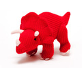 Best Years Knitted Triceratops: Large