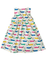 55% OFF! Frugi Little Pretty Party Dress: Dotty Dogs 0-3m