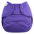 Blueberry Onesize Coverall: Grape
