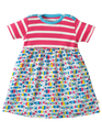 55% OFF! Frugi Boat Neck Body Dress: Bubble Fish 0-3m