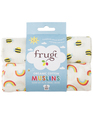 30% OFF! Frugi Lovely 2-Pack Muslins: Rainbow/Bee