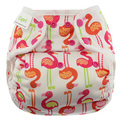 NEW! Blueberry Capri Nappy Wrap: Pink Flamingos