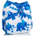 Onesize Nappy Wrap: Elephants
