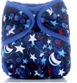 Onesize Nappy Wrap: Stars and Moons