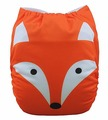 Alva Baby Onesize Nappy: Fox