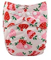 Alva Baby Onesize Nappy: Strawberries