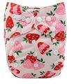 Alva Baby Onesize Nappy: Strawberries