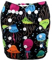 NEW! Alva Baby Onesize Nappy: Rainbow Jellyfish