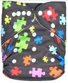 Alva Baby Onesize Nappy: Jigsaw