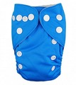 NEW! Alva Baby Newborn Nappy (Snaps): Blue