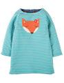 55% OFF! Frugi Peek A Boo Dress: Fox  0-3m