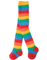 10% OFF! Frugi Toasty Tights: Rainbow Stripe