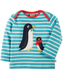 40% OFF! Frugi Bobby Applique Top: Penguins