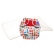 NEW! Bambino Miosoft Two-Piece Nappy Trial Kit: Great Britain