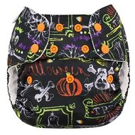 Blueberry Onesize Deluxe with OC Inserts: Trick or Treat