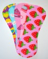 Pack of 5 Fleece Nappy Liners - Pink Mix