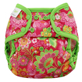 NEW! Blueberry Capri Nappy Wrap: Pink Butterfly Garden