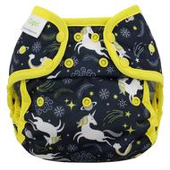 Blueberry Capri Nappy Wrap: Unicorns
