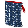 NEW! Planetwise Single Wetbag Large: Overboard (Twill)