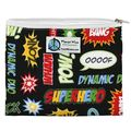 NEW! Planetwise Zipper Sandwich Bag: Superhero