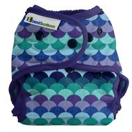 NEW! Best Bottoms Nappy Shell Onesize: Mermaid Tail