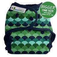 NEW! Best Bottoms Bigger Nappy Shell: Loch Ness