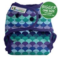 NEW! Best Bottoms Bigger Nappy Shell: Mermaid Tail