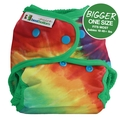 NEW! Best Bottoms Bigger Nappy Shell: Totally Tie Dye