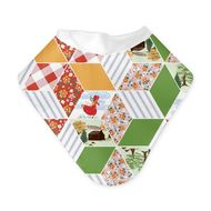 NEW! Bumgenius Bandana Bib: Patchwork