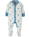 50% OFF! Frugi Darling Babygrow: Summer Seas  Tiny 0-3m