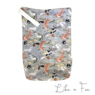 NEW! Applecheeks Zippered Storage Sac: Like a Fox