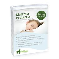 Little Lamb Mattress Protector Cot Bed Size