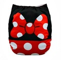 NEW! Alva Baby Onesize Nappy: Miss Mouse