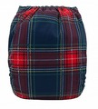 NEW! Alva Baby Onesize Nappy: Plaid