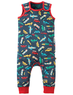 40% OFF! Frugi Kneepatch Dungaree: Bon Voyage