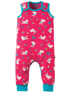 40% OFF! Frugi Kneepatch Dungaree: Holibob Bunny